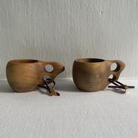 ククサ風 沖縄県産木製マグカップ(大)