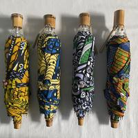 アフリカン晴雨兼用折りたたみ傘