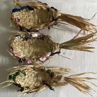 種水土花 別注クバのフィッシュトレイ