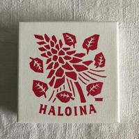 HALOINAハロイナ 芭蕉布 ピーコック型ピアス