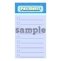 バイブルリフィル*支払いリスト