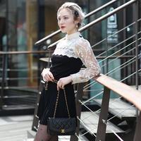 【pour Mademoiselle】パールフラワーシースループルオーバー