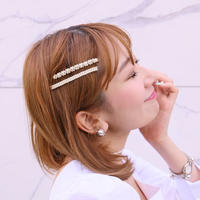 【pour Mademoiselle】ミニパールヘアピン