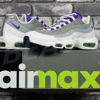 AIR MAX 95 OG WHITE/EMERALD GREEN/WOLF GREY/COURT PURPLE 554970-151 GRAPE