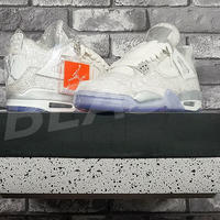AIR JORDAN 4 RETRO LASER 705333-105 US8.5 NIKE ナイキ エアジョーダン
