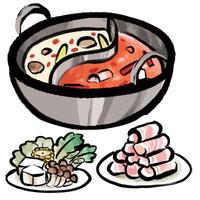 食べ物――火鍋の具材1-3  PDF&音声データ