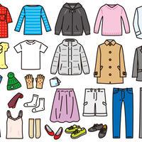 ファッション――衣服4-5/アクセサリー1-2  PDF&音声データ