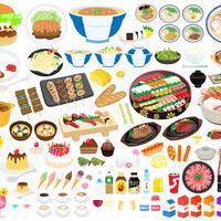食べ物――レストランのメニュー1-3  PDF&音声データ