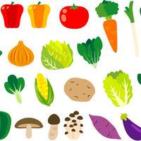 食べ物――野菜1-5  PDF&音声データ