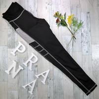 送料無料♡即納 【便利なポケット付き☆レギンス】ブラック×グレー ヨガ トレーニング フィットネス ウェア