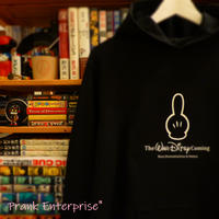 "HOODED SWEAT PULLOVER 12.0oz ""LiNE BLACK"" - The WAR DiTSY Coming  -"