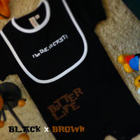 ROMPERS 5.6oz and BiB - BiTTER LiFE - #BLACK x BROWN