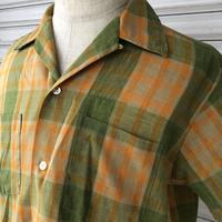 〜70's TOWNCRAFT オープンカラーシャツ