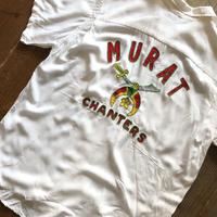 60's Hilton 刺繍シャツ