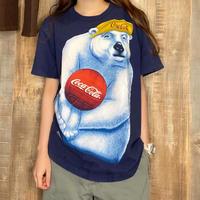 95年USA製ポーラーベアコカ・コーラTシャツ