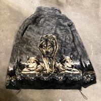 USA製オオカミボアジャケット