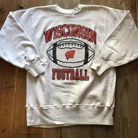WISCONSIN FOOTBALLチャンピオンリバースウィーブ