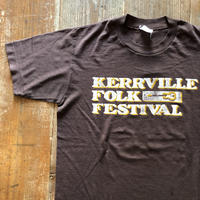 80年代 フォークフェスティバルイベントTシャツ