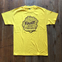 FARTCO プリントTシャツ  I FART ON THE FIRST DATE