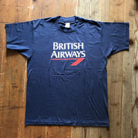〜90's BRITISH AIRWAYS 企業物系Tシャツ