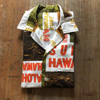 60's〜Vintage  Hawaiian Shirt