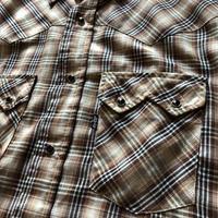 70's-80'sリーバイス ウエスタンチェックシャツ L ⑩