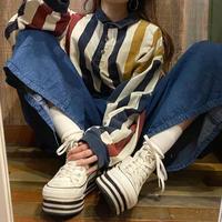 USA製WEEKENDSラガーシャツ