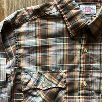 80年代リーバイス 長袖チェックシャツ L ③
