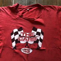THE CARS 1980 TOUR Tシャツ