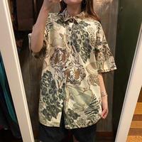 USA製アニマル柄半袖シャツ