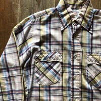 70's-80'sリーバイス ウエスタンチェックシャツ M (12)