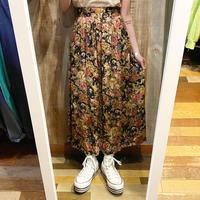 USA製花柄ロングスカート