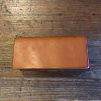 Dirty Leather long wallet