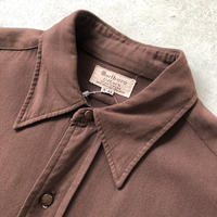 50's〜Marlboro ビンテージ マチ付きシャツ