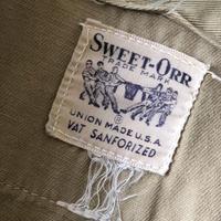 50's SWEET-ORRビンテージワークシャツ