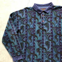 USA製Ralph Lauren総柄ポロシャツ