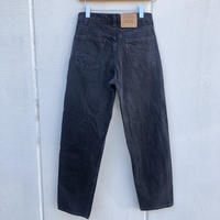 USA製Levi's550 RELAXED FIT W32×L30 黒
