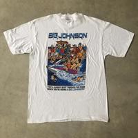 90's 未使用 BIG JOHNSON プリントTシャツ