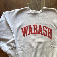 90'sUSA製WABASHチャンピオンリバースウィーブ L