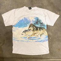 USA製ハスキー両面プリントTシャツ