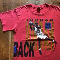 90's NIKE銀タグ Jordan ×Pippen プリントTシャツ