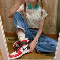 JAPAN製IZOD LACOSTEノースリーブポロシャツ