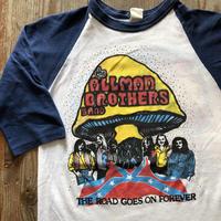 1980年代ラグランスリーブバンドTシャツ THE ALLMAN BROTHERS BAND  M