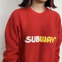 〜90's SUBWAY スウェット