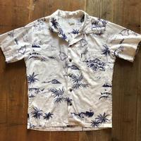 ハワイ諸島柄 ハワイアンシャツ