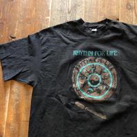 1992 RHYTHM FOR LIFE プリントT