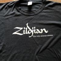 80's Zildjian 音楽系企業物Tシャツ