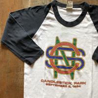 Crosby Still & Nash ラグランバンドTシャツ