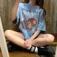 WING MAN マリオTシャツ
