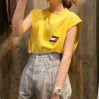 USA製 TOMMY HILFIGERノースリーブTシャツ